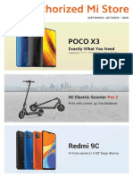 Xiaomi Philippines Sept-Oct 2020 Product Catalog With Prices