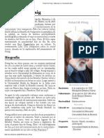 Robert M. Pirsig - Wikipedia, la enciclopedia libre