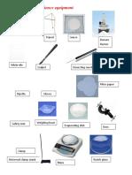 Drawing Laboratory Equipment Workbook