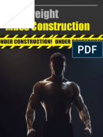 Bodyweight Mass Construction