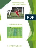 EXPERTO EN METODOLOGIA DE ENTRENAMIENTO DEL FUTBOL ESPAÑOL
