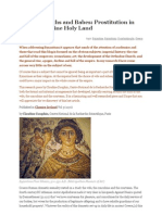 Brothels, Baths and Babes Prostitution in the Byzantine Holy Land