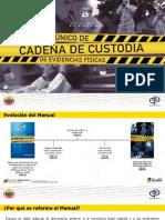 PRESENTACIÓN MANUAL DE CADENA DE CUSTODIA