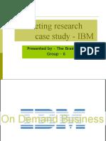 brainwave marketing project -IBM