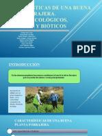 Factores ecologicos