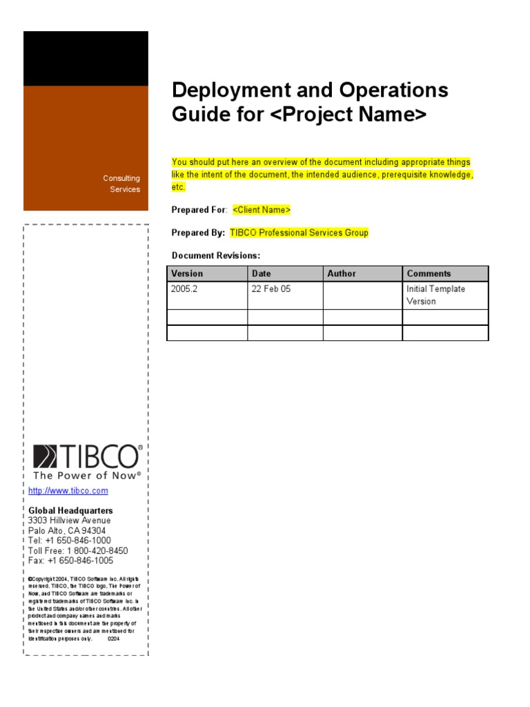 tibco psg deployment and operations guide template port computer rh scribd com TIBCO Integration TIBCO Designer