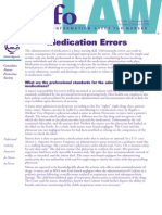 Medication Errors - CNPS