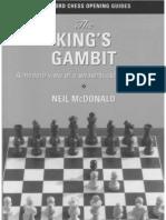 Neil McDonald - Thr King's Gambit [Batsford Chess 1998]