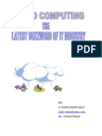 Cloud Computing [1].....the Latest Buzzword of It Industry-CSEP91