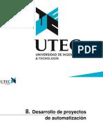 8 Desarrollo de proyectos de automatizacion
