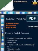 subject verb agreement sexto. 03-08-2020.pptx