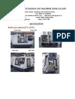 CNC TX32W - QUOTATION
