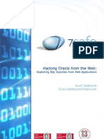 ORACLE hack web