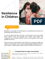 Ways to Develop Resilience in Children