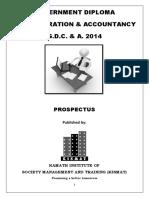 GDC& A prospectus