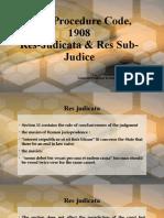 CPC - Res Judicata