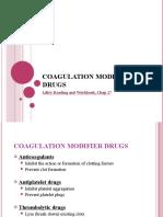 CoagulationModifierDrugs