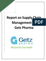 Supply Chain Management of  Getz Pharma