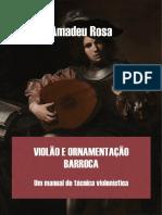 Violão e Ornamentação Barroca_ Um Manual de Técnica Violonística _ Amadeu Rosa