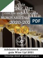 Guía de vinos monovarietales Wine Up! 2020 y adelanto de puntuaciones de la guía 2021