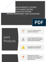 [AFAR][P02] - Joint and By-Product, ABC, Backflush, and Service Department Cost Allocation