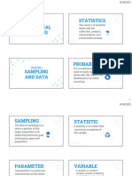 CH1. SAMPLING AND DATA