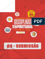 DISCIPLINA ESPIRITUAL - SUBMISSÃO- #6