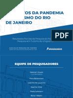 """Pesquisa """"Os efeitos da pandemia no turismo do Rio de Janeiro"""""""