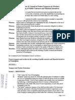 Framingham tax incentive ordinance
