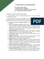 2. Rolul secretariatelor în instituții