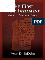 BeDuhn J.D. - The First New Testament. Marcion's Scriptural Canon.pdf