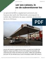 Pour renflouer ses caisses, le Nigeria cesse de subventionner les carburants