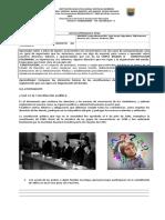 GUIA 19 Y 20 CONSTITUCION Y DERECHOS HUMANOS