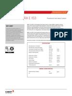 Carbon activado de alta pureza-Datasheet-NORIT-A-ULTRA-E-153