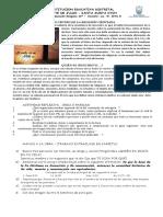 JESÚS CENTRO DE LA RELIGIÓN CRISTIANA - GUIA RELIG 10°
