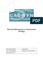 ART127_Planned Maintenance and improvement strategy