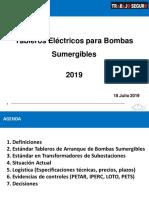 Tableros Eléctricos en Bombas Sumergibles