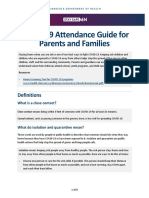 MDH Attendance Guide for Families