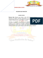 FILOSOFIA DEL PROYECTO 2.3
