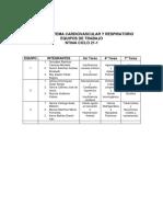 Equipos Trabajo Sistema Cardiovascuolar y Respiratorio NT04A 21-1