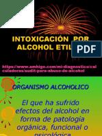 ALCOHOL ETILICO INTOXICACIÓN
