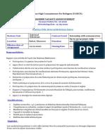 Internship Vacancy RE 2020