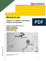 P264, 300 MANUAL DE USO DEWILUX 160 LED VARIABLE