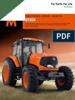 Tractor Kubota-M135X