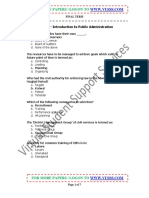 MGT111_Introduction to Public Administration_Solved_Final Term Paper_03