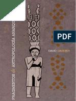 Fragmentos de Antropología Anarquista - David Graeber