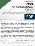 Código de Ética Profissional do Servidor Público  - Decreto nº 1.171 de 1994 - Parte 4