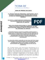 OPOSICIÓN A LETRADO DE URBANISMO AMAÑADA