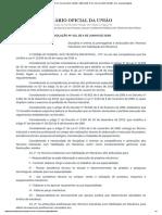 RESOLUÇÃO Nº 101, DE 4 DE JUNHO DE 2020 - Atribuições dos Técnicos em Mecânica