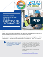 Med Prev COVID19 Servicio Portuario